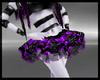 B purple cyb' skirt