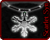 (Ss) Snowflake Necklace