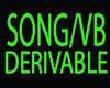 SONG/TUNE/VB/ DERIVABLE