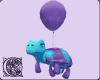 Purple n Aqua Turtle