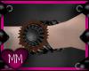 Brown Sun Cuffs L