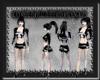 [FCS] Black White Fur