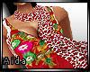 A~Leopard red shawl