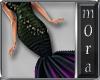 Black Iris Gown