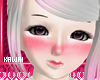 kawaii cute pink blush