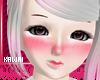 kawaii cute pink blush