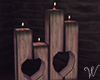 Secret Valentine Candles