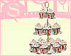 S. xmas cupcake tray