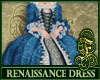 Renaissance Dress Blue