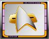 ∞ Trek Comm Badge 2