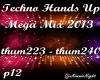 Techno Mega Mix 12/18