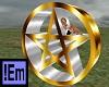 !Em GoldSilver Pentagram