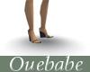 [O]GREY WEDGE HEELS