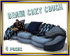 Denim Cozy Couch