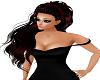 Tess Braid Black Red