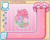 Floral Heart Badge