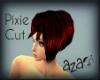 aza~ short pixie hair