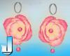Lush RosePearl Earrings1