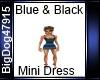 [BD] Blue&Black Dress