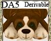 (A) Stuffed Dog Rug