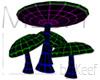 Mushroom, Cluster of 5