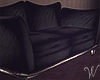 Spirits Black Loveseat