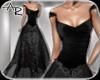 ! Abra Gown Jet Black