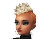 Hair Blond Orange Mohawk