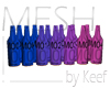 Bottles, Med MESH