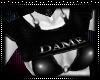 !S Custom Tease top-Dame