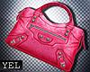 [Yel] Super pink bag