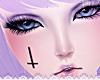 ☪ Face Tattoo ~ Cross
