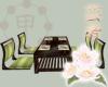 Jade Ochaya Table Set