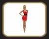 Sarah red dress