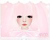 ♔ Bunny Hair Rose
