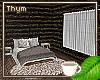 Cozy Winter Cabin Bdrm