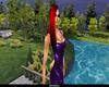 {SoSP} Sari Red/Blk Tips