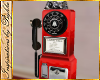 I~Diner Payphone*Red