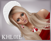 K white beret blonde mix