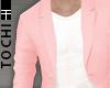 #T Fiore Blazer #Rose