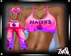 Hater Fade Tank Pnk/prp