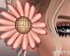 Pinky Hair Flower