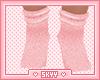 Kids Pink Fuzzy Socks