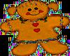 Gingerbread Girl cookie