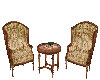 Antique Wine/Chairs