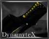 !D Toxic Yellow Boots