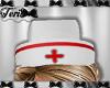 Nurse White Red Cap