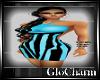 Glo* Kati Dress~BabyBlue