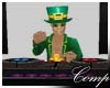 St Patricks DJ Table