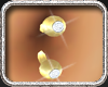 Gold Belly Piercing